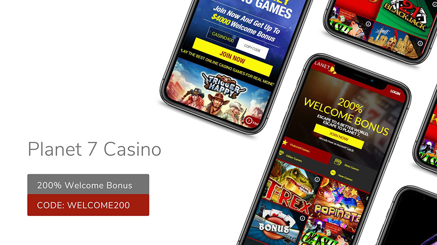 Planet 7 Casino Bonus Offers