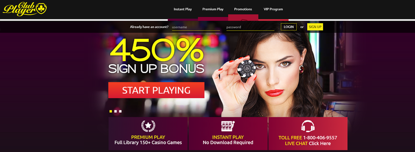 Club Player Casino Promotions
