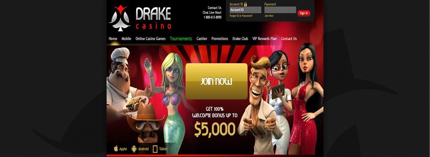 Drake Mobile Online Casino Review