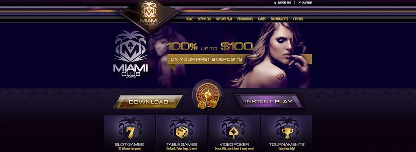 Miami Club – USA Mobile Casinos