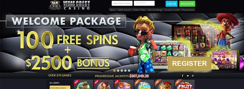 Vegas Crest Mobile Casino