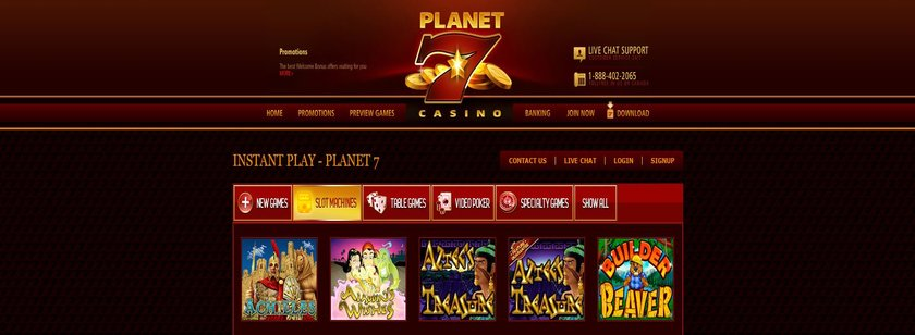 Planet 7 US Mobile Casino