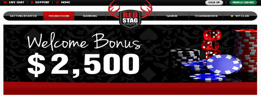 Red Stag US Mobile Casino