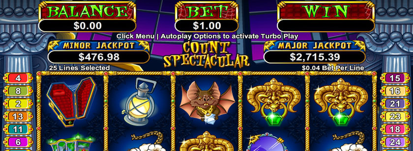 Count Spectacular Mobile Slot Review