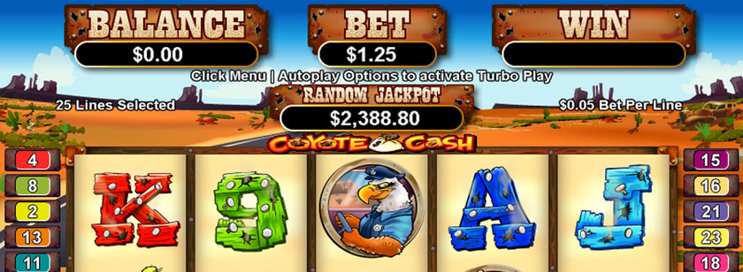 Coyote Cash Mobile Slots Game