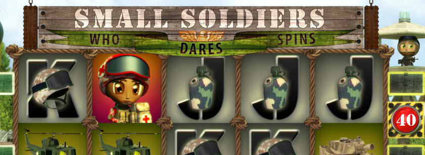 Small Soldiers Mobile Slot Game